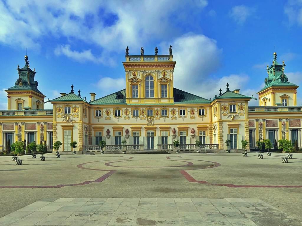 Pałac królewski w Wilanowie.