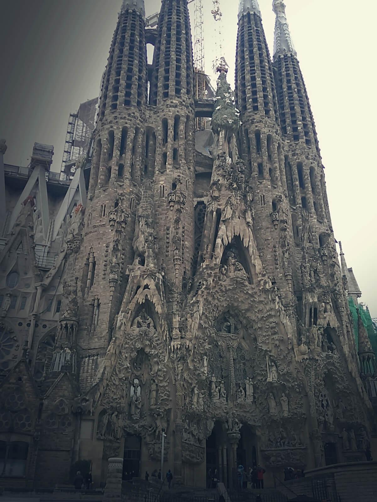 Katedra z Barcelony.
