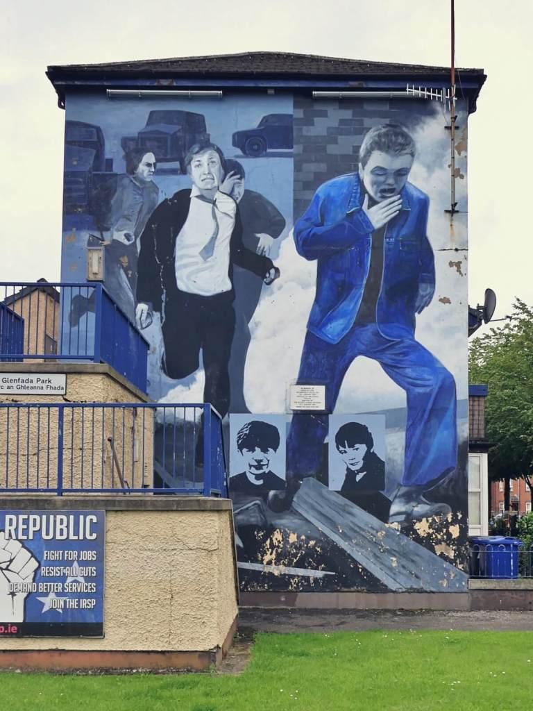 Murale z London Derry, Free Derry