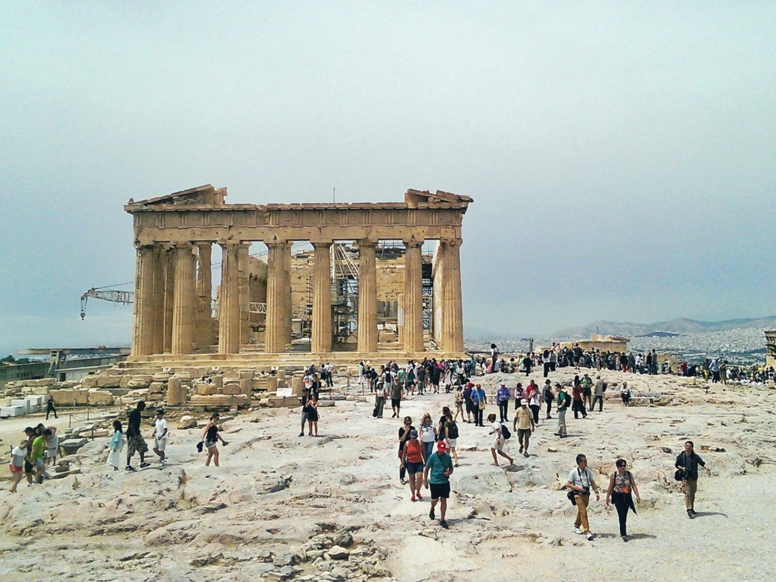 Ateński akropol.