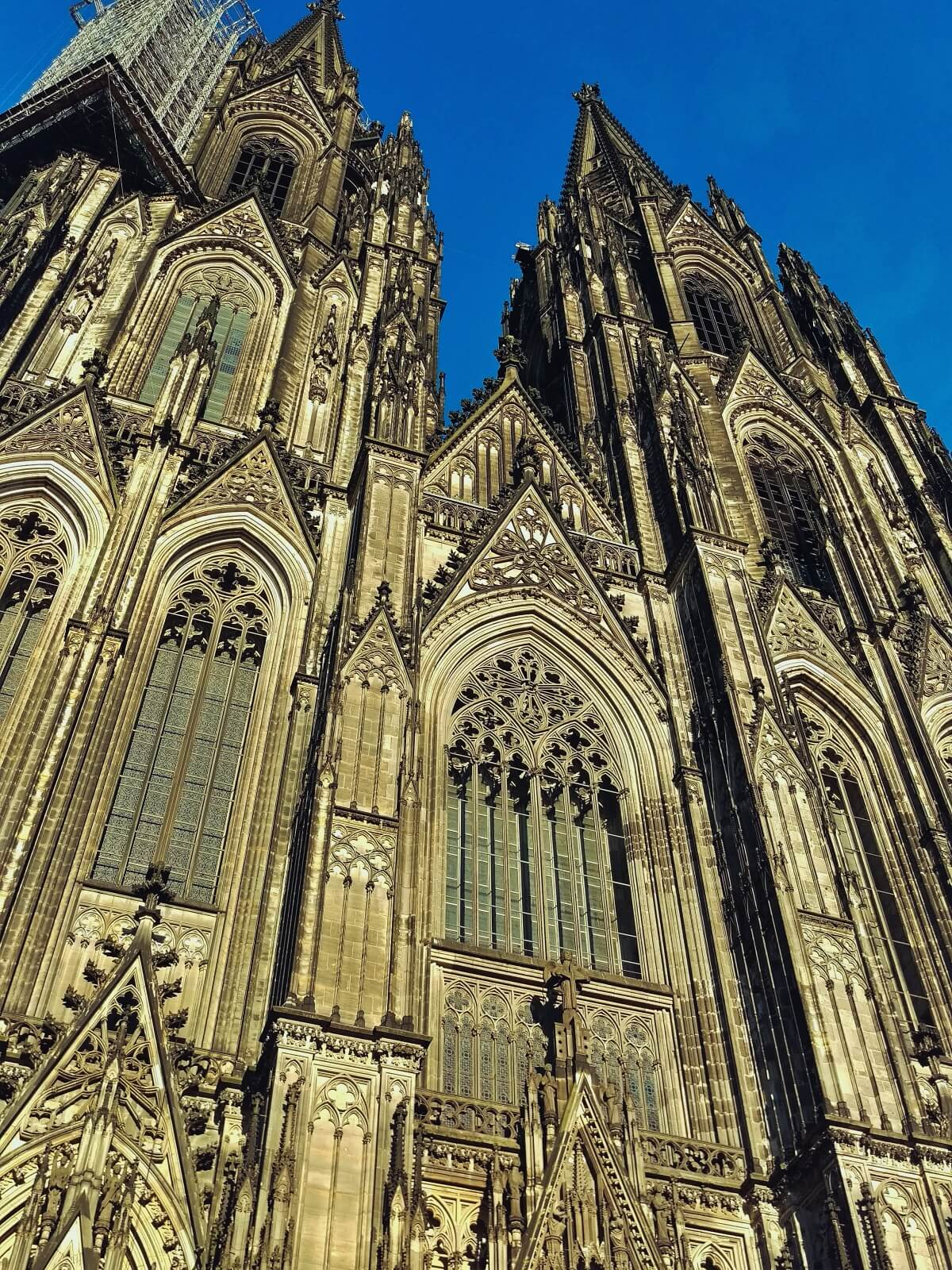 Wierze katedry w Kolonii.