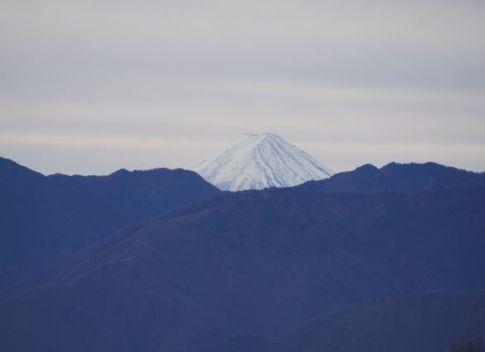 両神山からの富士山