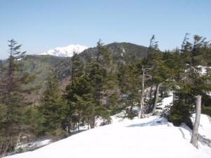 上部高原から小秀山