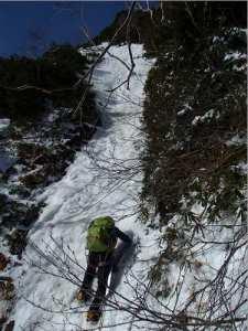 五竜岳,G2陵