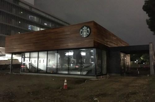 オープン前の(仮称)スターバックス 東別院店の外観