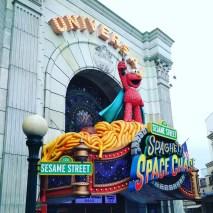 Elmo's world at the Universal Studios
