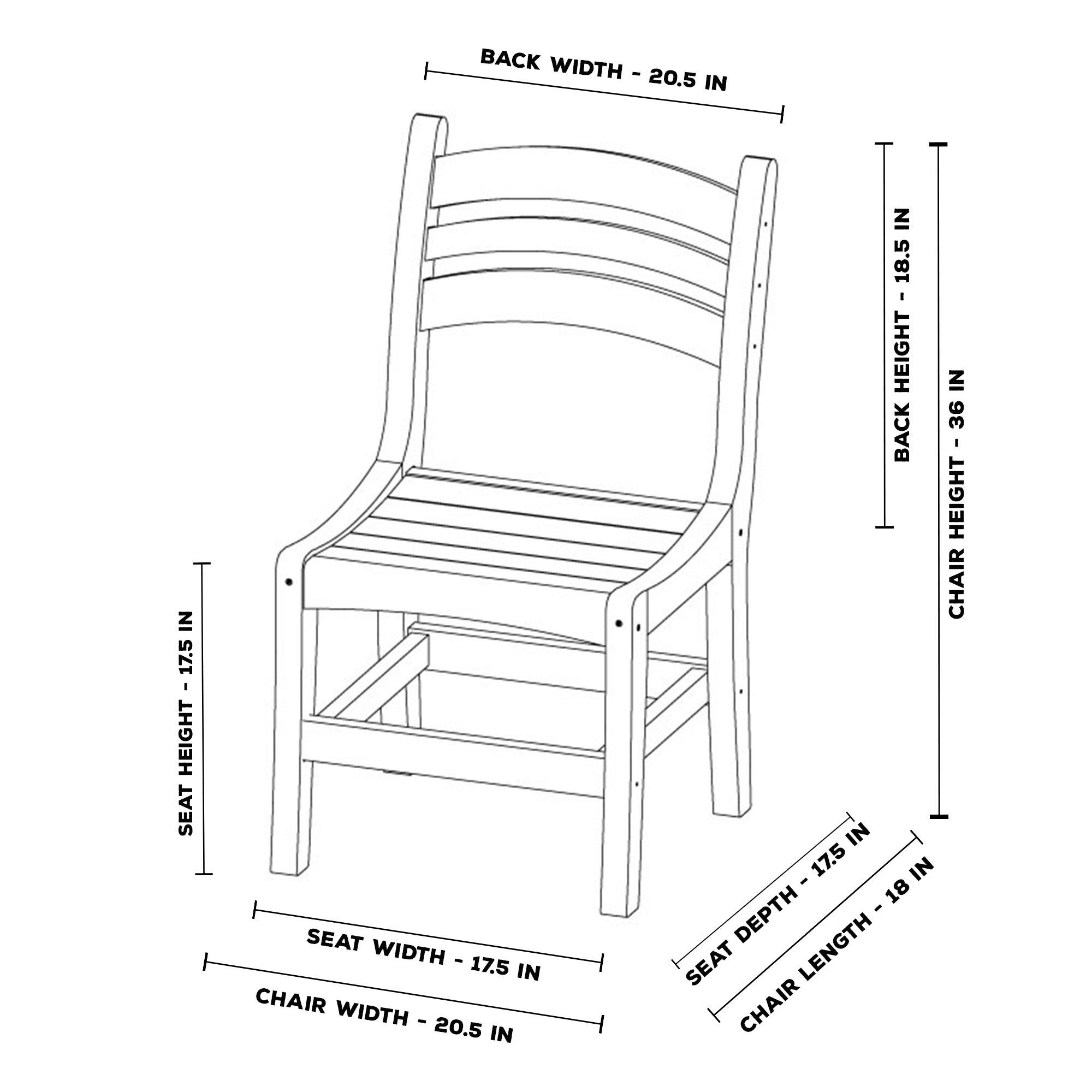 Pawleys Island Casual Dining Chair