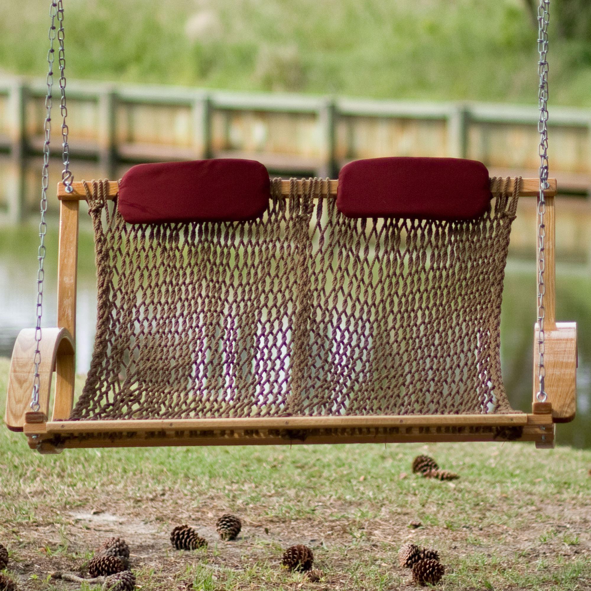 Bent Oak Porch Swing