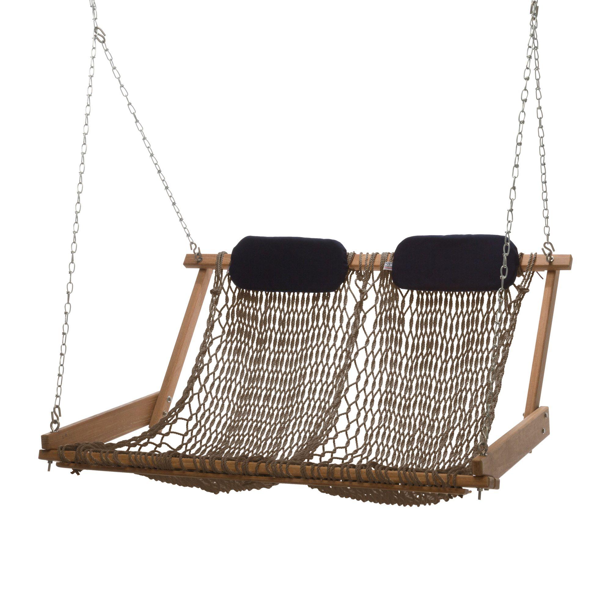 Original Cumaru Rope Porch Swing