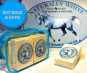 Horse soap Naturally white