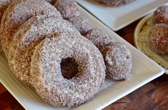 Donuts de sidra dulce