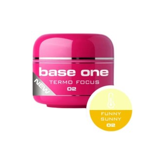 UV nagų gelis Base One Termo Focus Funny Sunny
