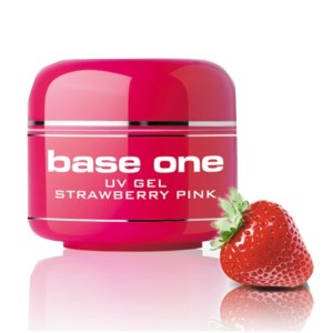UV nagų gelis Base One Strawberry Pink