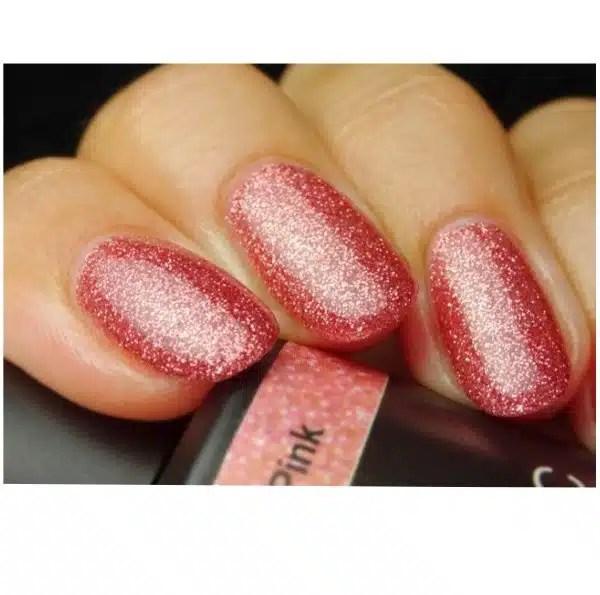 Profesionalus ilgalaikis gelinis lakas Pink Gellac Glitter Pink  15 ml