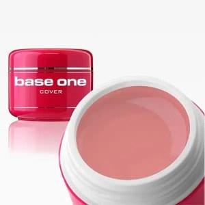 UV nagų gelis Base One Cover Medium švelnus rožinis 15 g