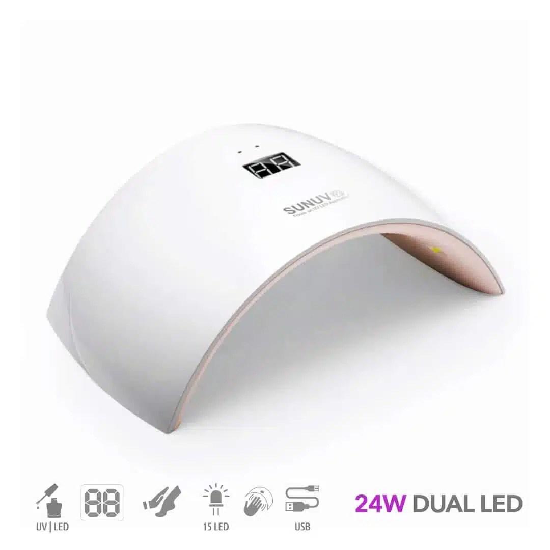 24w-dual-led-nagu-lempa-SUN-9