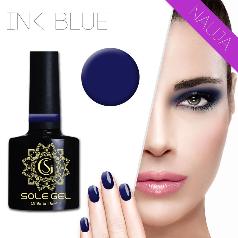 sole gel lakas INK BLUE 160