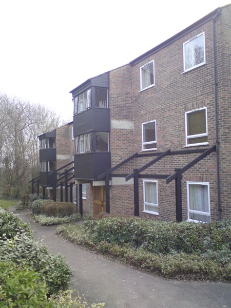 Photograph of Lance Croft flats