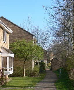 Photograph of Olivers Mill neighbourhood