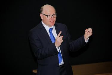 Sean Higgins az új európai marketing igazgató!