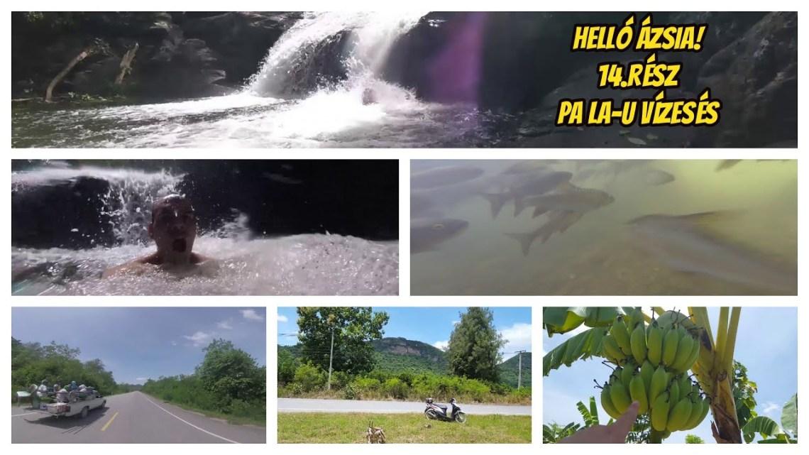 180 km robogóval, Thaiföldön. Vízesés. – 14.rész – Helló Ázsia! 2.0 VLOG