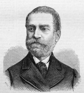 Ormós Zsigmond portréja. Rusz Károly metszete, VasárnapiÚjság1872aug25