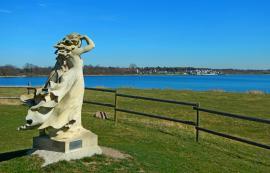 Blick über Markkleeberger See