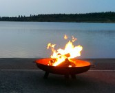 Feuer am See