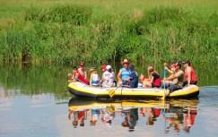 Schlauchboot-touren im Muldental