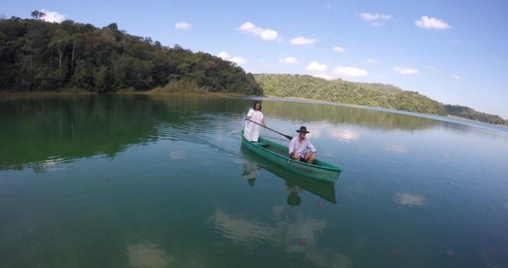 Recorrido en canoa a laguna amarilla