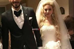 dc1bcaa1fd540 بالصور .. حفل زفاف على جبر لا عب بيراميدز