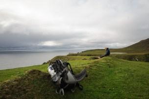 Pause auf der Insel Unst