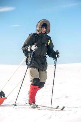 Auf Skiern durch die Arktis