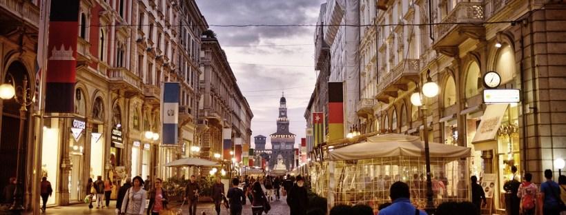 Compras em Milão