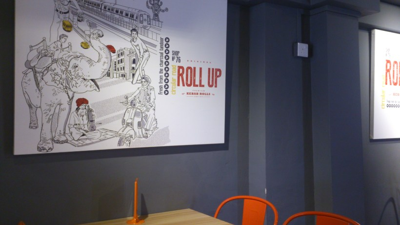 Roll Up Kebab - A view of the cafe