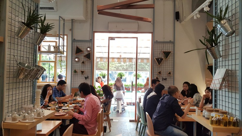Maple & Oak Cafe at Jakarta, Indonesia - Another view of the cafe