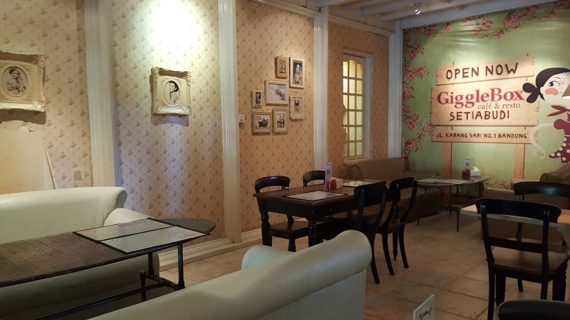 Giggle Box Cafe And Resto At Bandung, Indonesia - Another Dinning Area