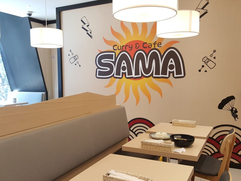SAMA Curry Offering Fiery Spicy Curry Soup Up To Level 30 At OUE Downtown Gallery - Interior
