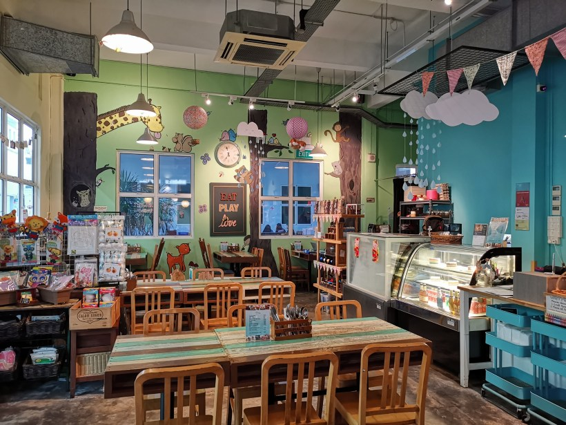 Thyme At Aliwal, An Additional Option to Kampong Glam - Interior, another view