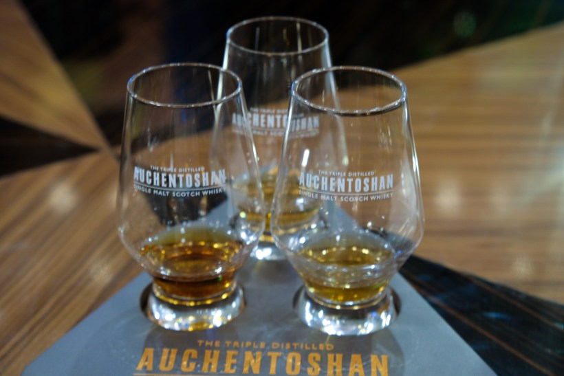 Porta X Auchentoshan Whisky Exclusive Dinner - Auchentoshan triple distilled whisky
