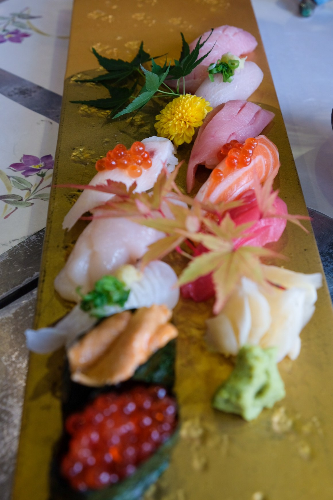 Sushi Airways, Dine In DC-3 Inspired Ambience - Premium Assorted Sushi Platter ($59)