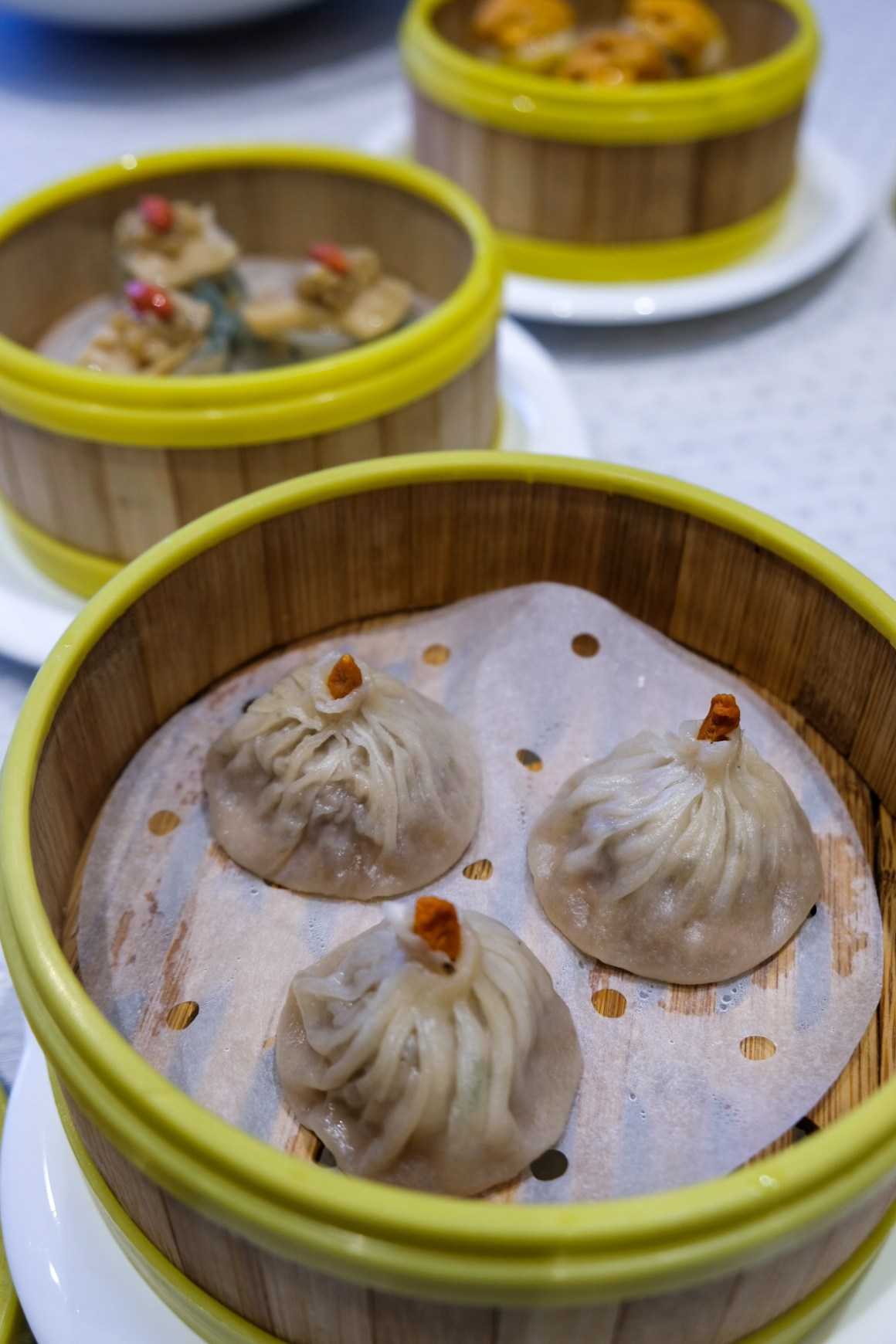 Peach Garden Oishi Flavours of Japan - Steamed Xiao Long Bao with A5 Wagyu Beef 日本 A5 和牛小笼包 ($8.80++)