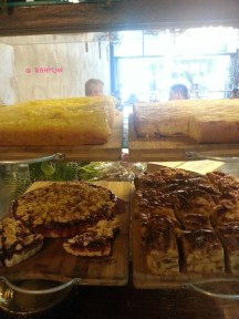 Cakes and Pastry of the Day