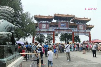 A Gate in Summer Palace