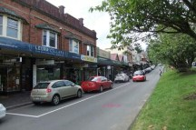 Shops in Leura