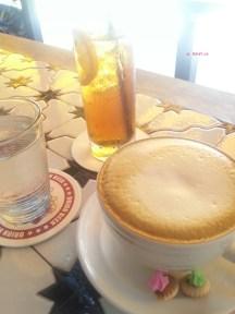 Ice Lemon Tea & Cappuccino