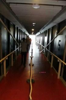 Walking towards the Boarding Aread