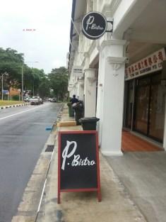 P. Bistro Signage