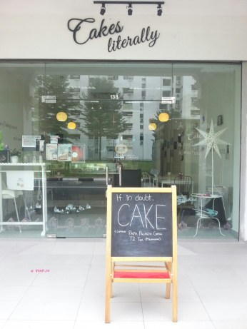 Cakes Literally Shop Front