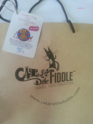 Cat and Fiddle Paper Bag